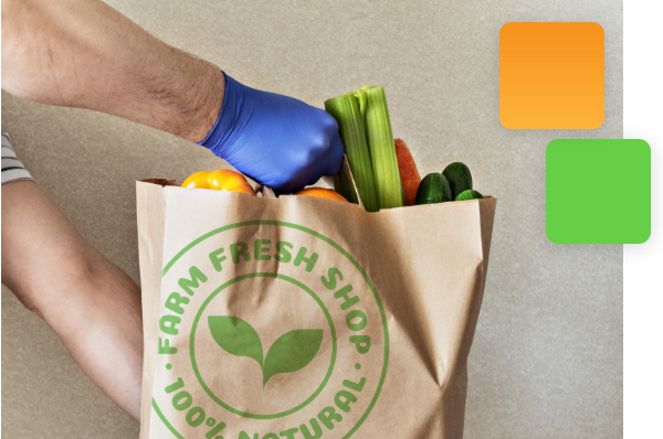 Branded Delivery Messaging and Notificiations for Food and Grocery Industry