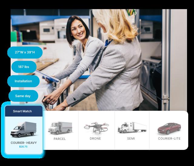 OneRail-Multimodal-Optimization-Smart-Matches-Best-Courier-Mobile